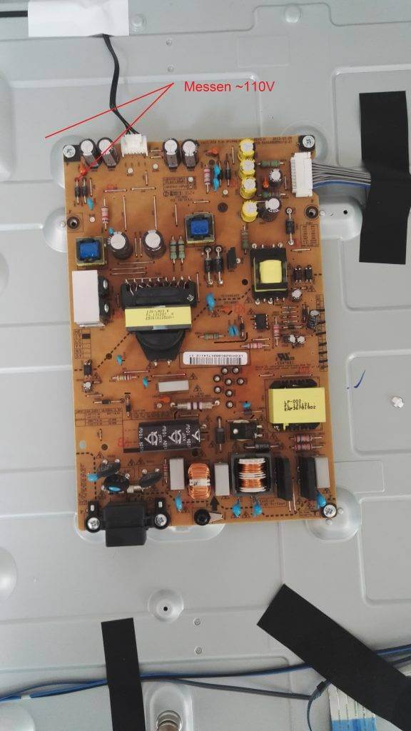 LG TV Reparatur Hintergrundbeleuchtung Netzteil