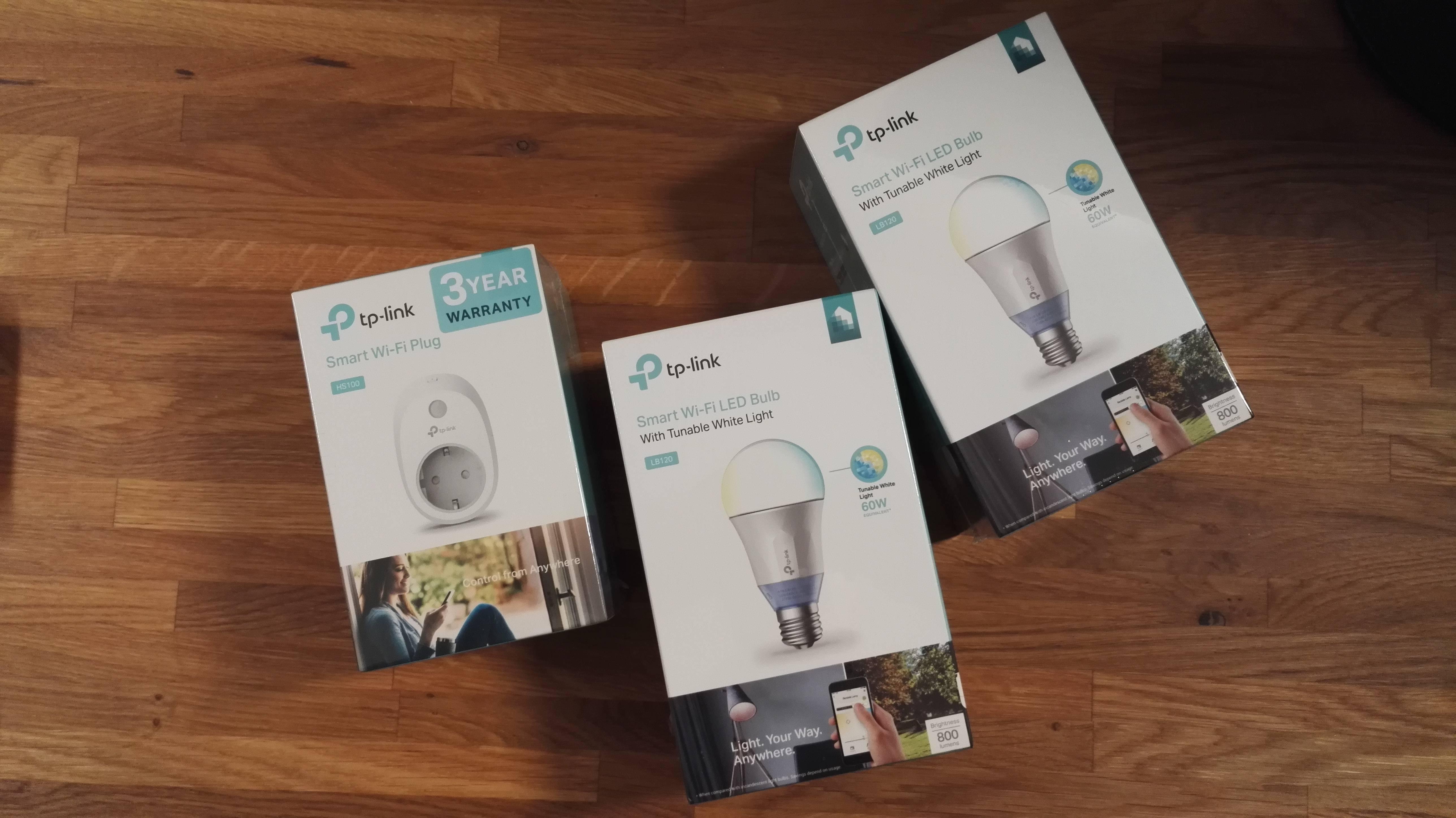 TP-Link Smart Home Produkte ~ HS100 Wi-Fi Steckdose und LB120 Wi-Fi LED Bulb im Test 1