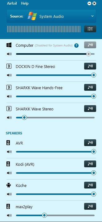 Airfoil - Musik Streaming per Airplay und Bluetooth mit Multiroomfunktion 1