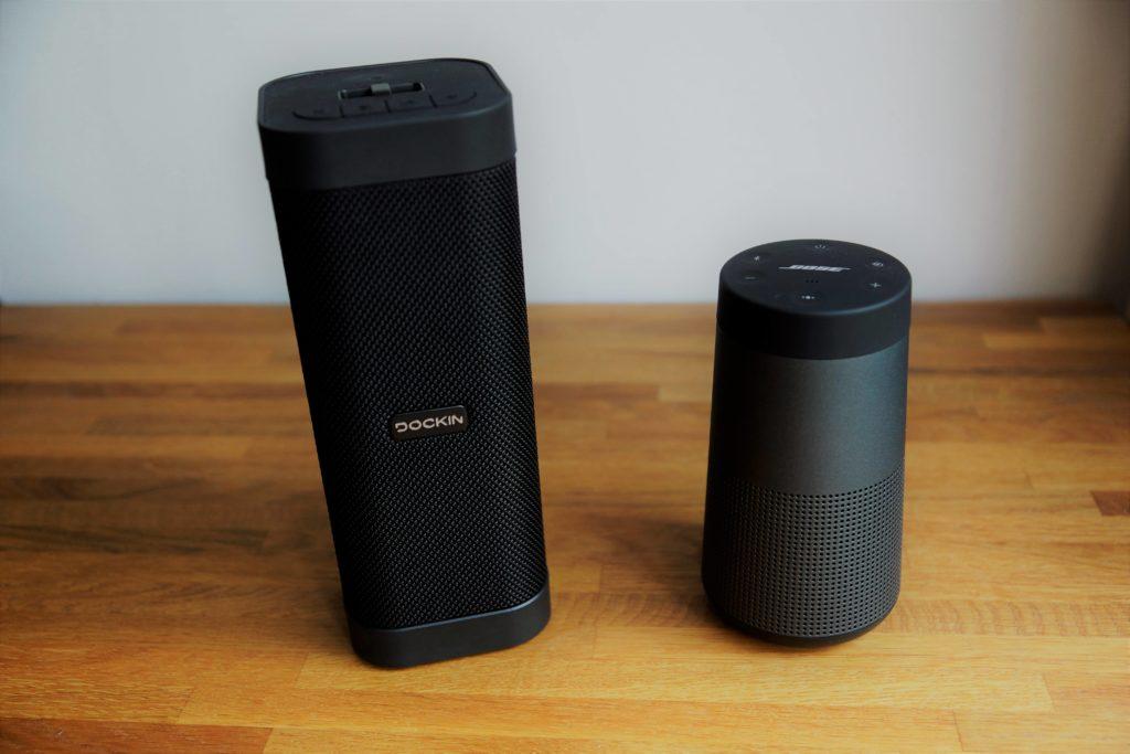 Dockin D Mate 360° Bluetooth Lautsprecher im 4 Wochen Test + Vergleich mit Bose Soundlink Revolve 9