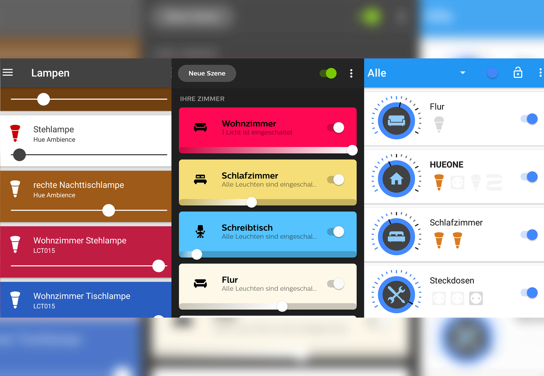 Lohnenswerte Android App Alternativen zur Philips Hue Steuerung und Konfiguration