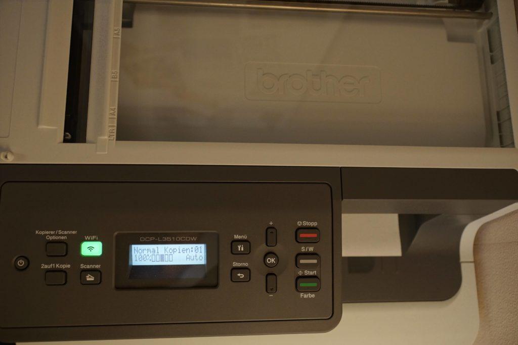 Brother DCP-3510CDW 3 in 1 Farblaserdrucker im Test - professioneller Alleskönner für den Heimeinsatz 3