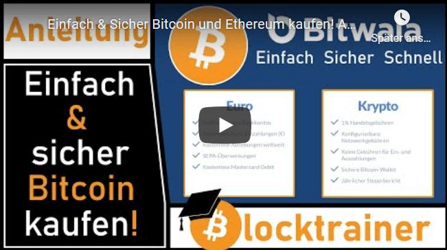 Bitwala Blockchain Konto - Bitcoins einfach und sicher kaufen + 30€ Startguthaben für Neukunden 1