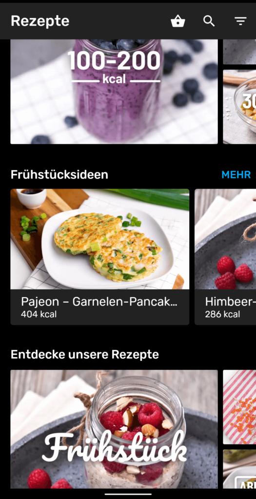 Yazio Kalorientracker  - Übersichtliche und umfangreiche Tracking App für Fitness & Ernährung [Erfahrungsbericht] 6