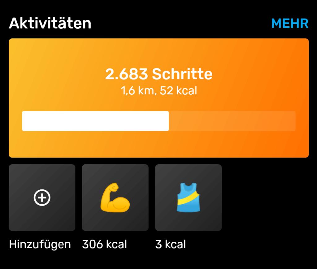Yazio Kalorientracker  - Übersichtliche und umfangreiche Tracking App für Fitness & Ernährung [Erfahrungsbericht] 12